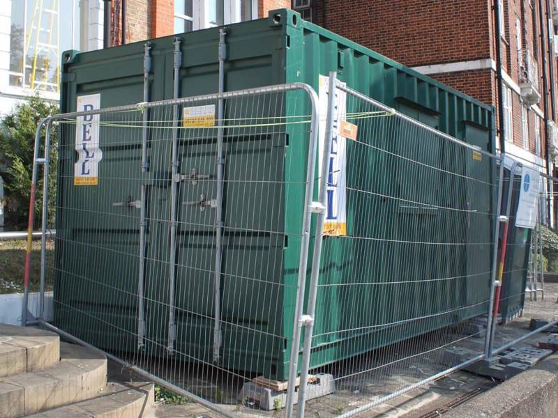16ft office unit on site London