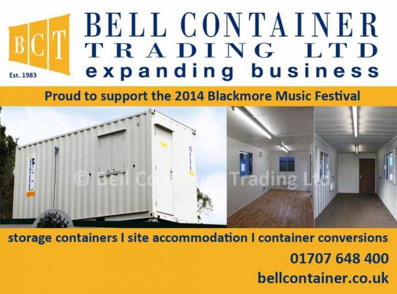 Essex community – container sponsorship advert