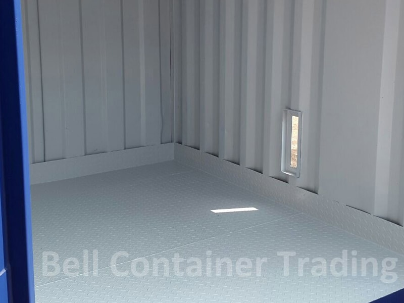 steel bunded container floor welded
