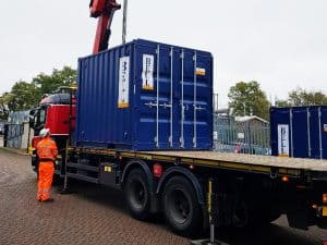 10ft container hi ab delivery Hertfordshire