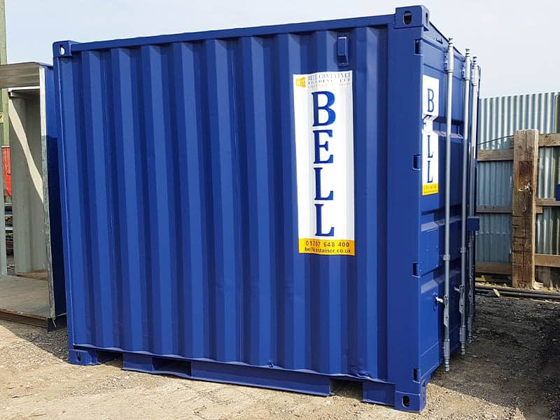 10ft storage container london hire fleet