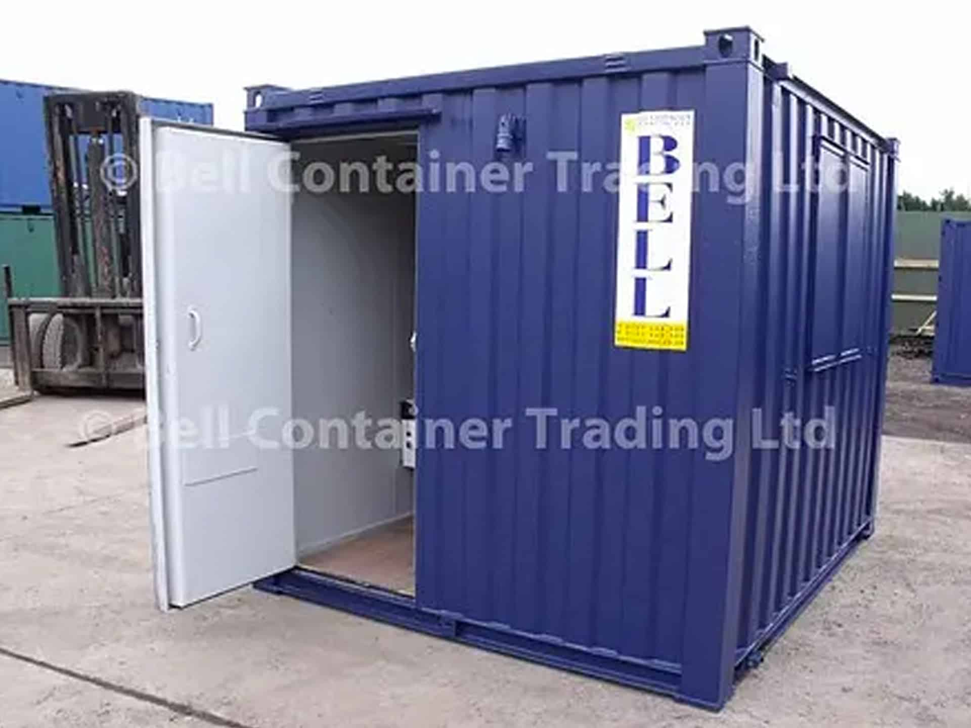 10ft office container hire fleet