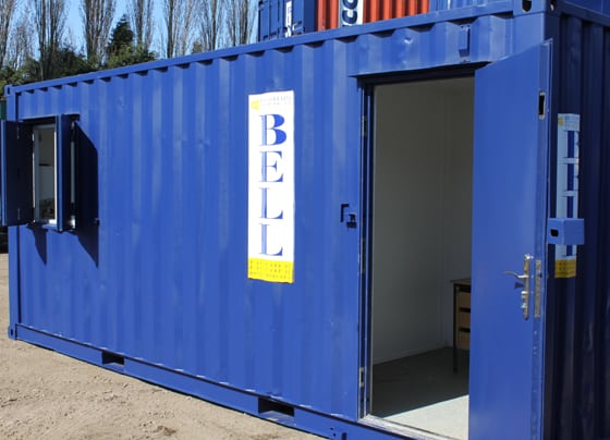 Bell Container Container Office Conversion London 1