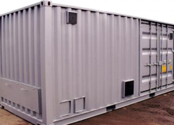 Container conversions bespoke generator unit Bell 2 300x206