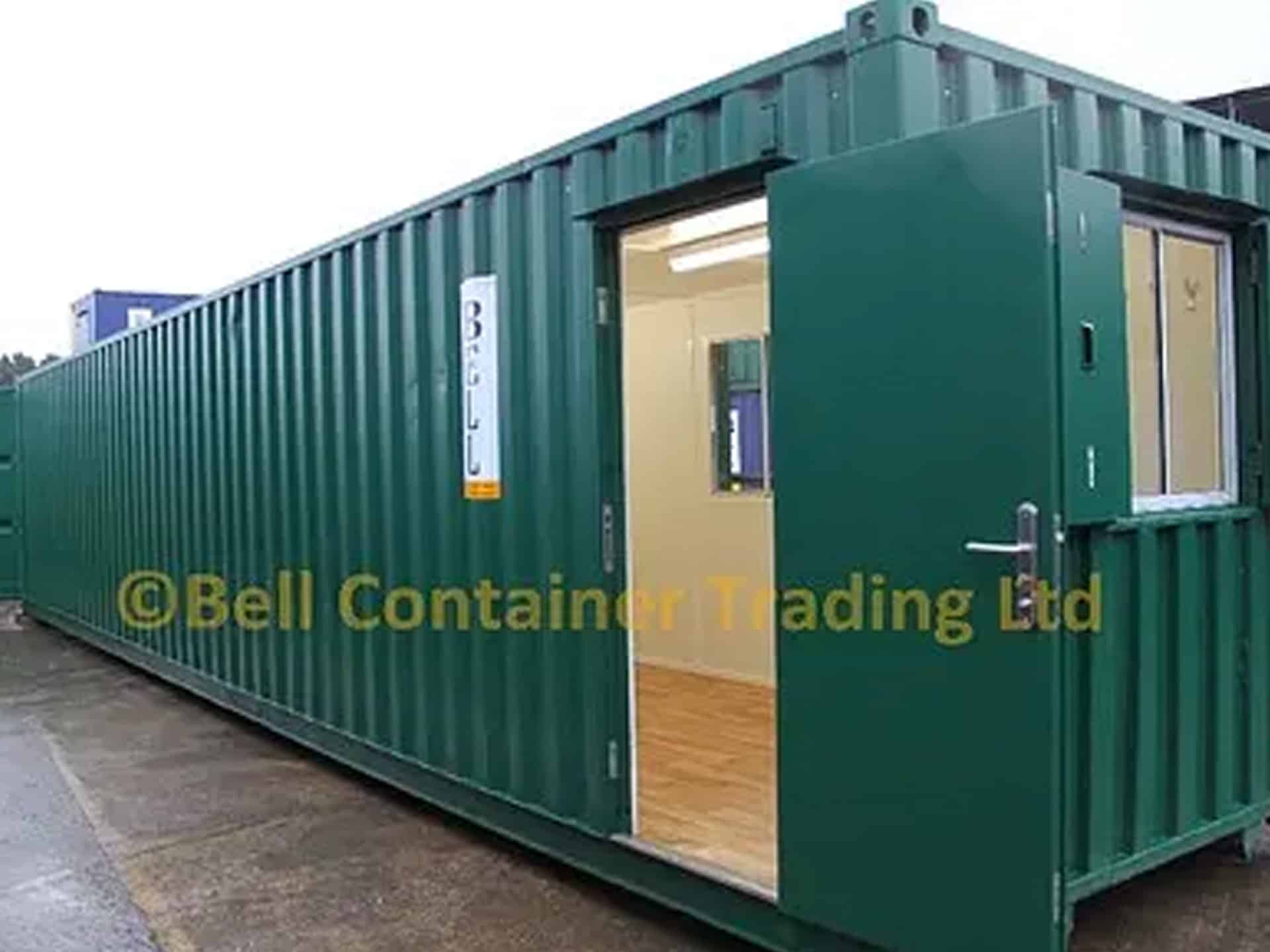 container conversions office 40ft