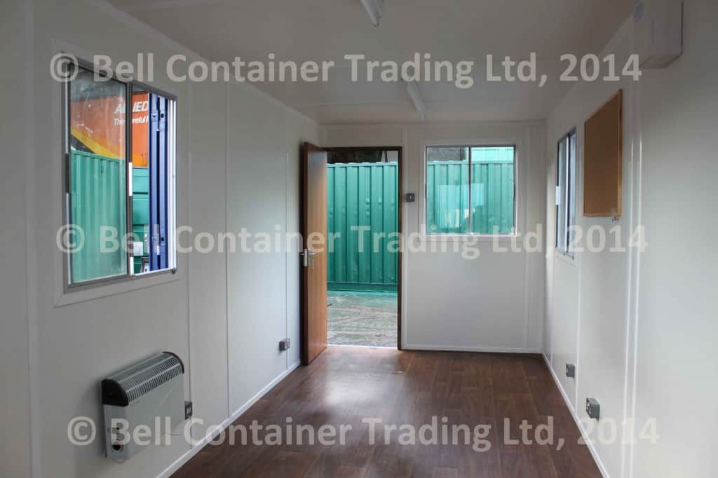 open-plan office container