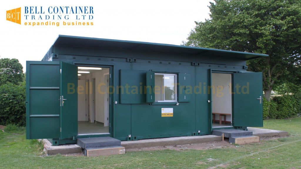 shipping container club house changing room cricket club 1024x682 1