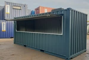 20ft shipping container bar cafe