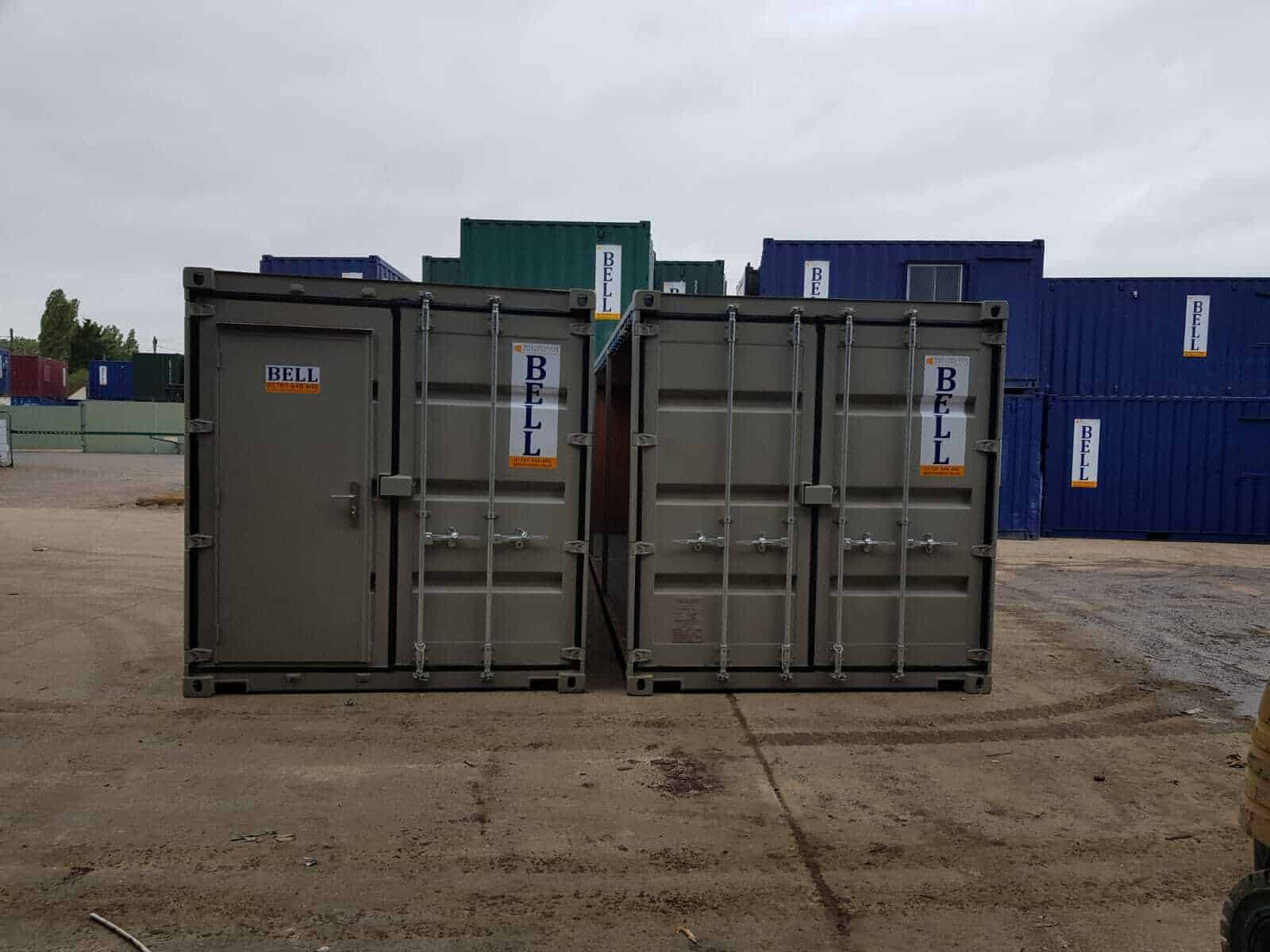 30ft linked storage containers London