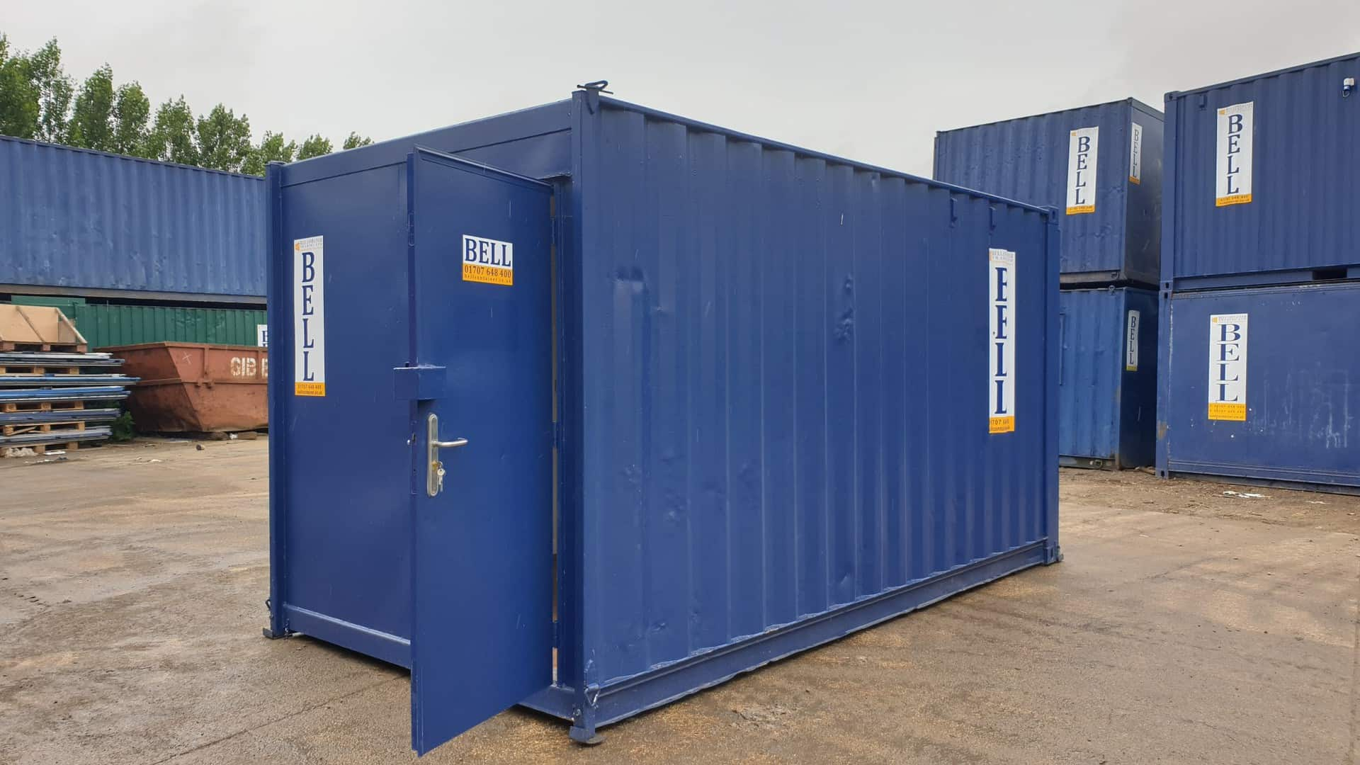 16ft toilet and canteen unit external sales London depot