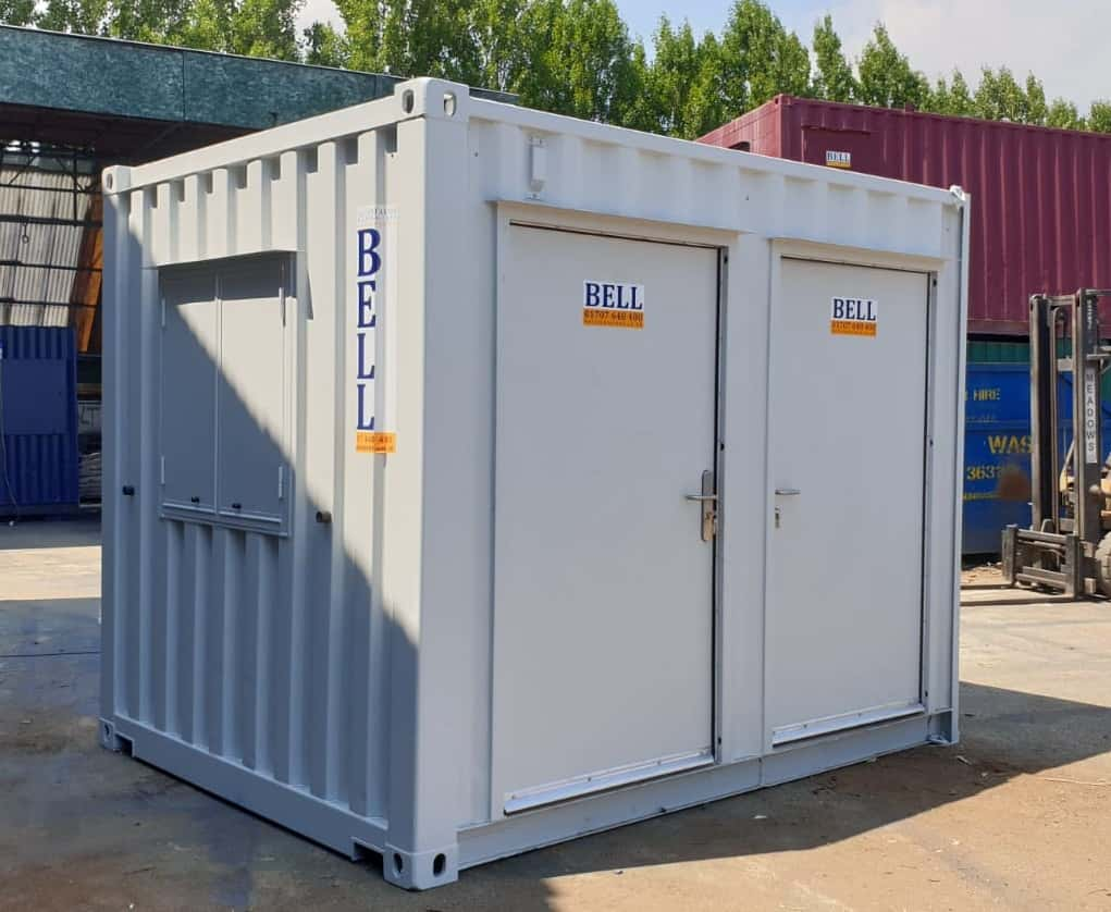 Bell Care Pods Container Social Distancing 2
