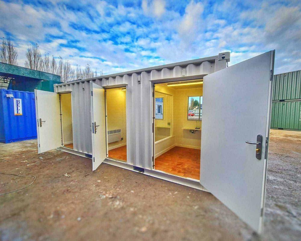 20ft Bell Care Pod Social Distancing Unit