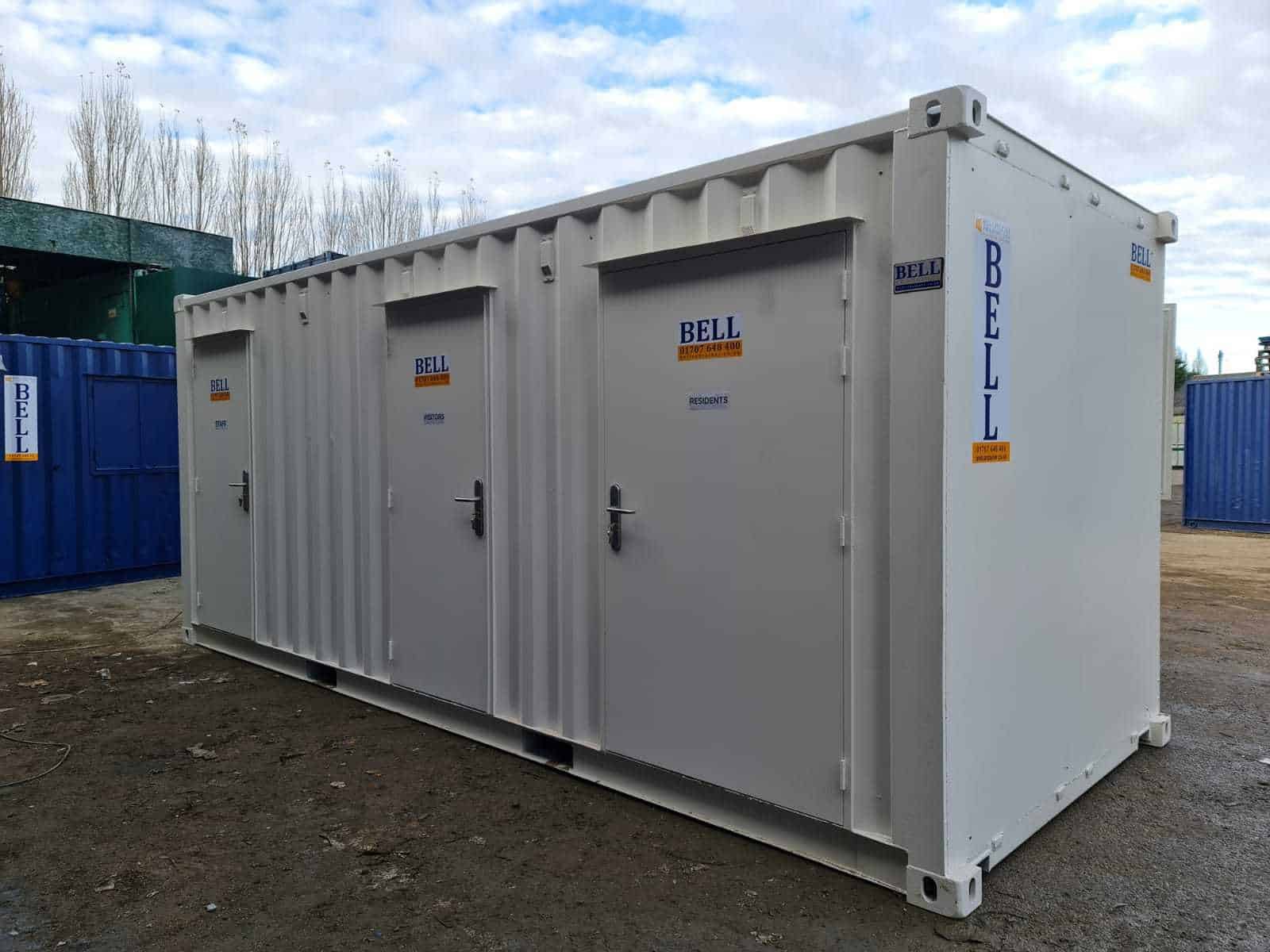 Bell Container Social Distancing Care Pod