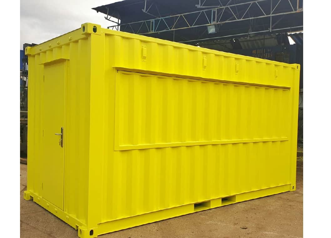 16ft container food truck London container conversions
