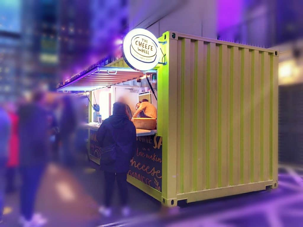 Pop Up Container Food Truck Market London